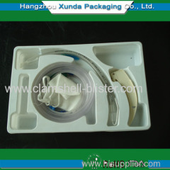 Plastic cavity packaging tray for hardware