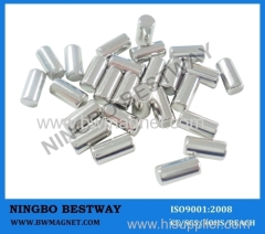 N48 NdFeB Rod Magnets with NiCuNi coating
