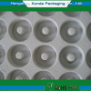 Plastic electronic packaging tray