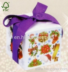 silk ribbon memo paper box