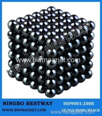 magic bucky balls of D5MM Black Color Neomagnet