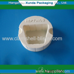 Plastic blister cavity packaging tray for cosmetic