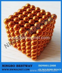 N35 D5mm Colorful Magnet sphere Toy