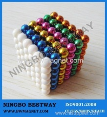 D5mm 261pcs/set NdFeB Colorful Balls