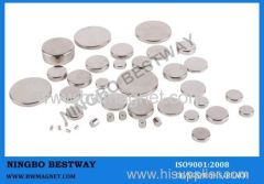 Different Sizes Neodymium Disc Magnets