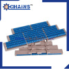 Straight running low-back pressure chain Patented design LBP821-K1000