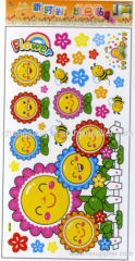 wallstickers of kids sunflower Wall Sticker