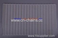 Flush Grid 900 Food Plastic Modular Conveyor Belt 27.2mm pitch