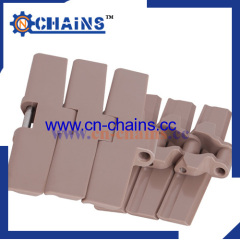 side flexing plastic conveyor chains with SS pin