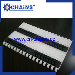 flat rubber top 1.0inch pitch modular conveyor belt