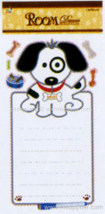 cute dog Chalkbord Sticker