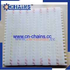Closed Flat top Plastic Modular Belt Conveyor belt 25-408
