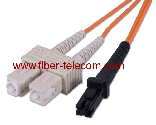 SC-MTRJ Multi Mode Duplex Fiber Optic Patch Cord