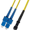 SC-MTRJ Single Mode Duplex Fiber Optic Patch Cord