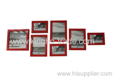Red Border PS Picture Frame