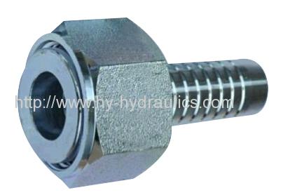 Flat seat orfs female sae J516 hydraulic tube fitting hose end fittings 24211 24211-T 24211W