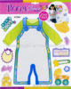 clothes Growth Chart Wall Sticker