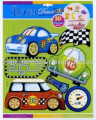 Car Foam 3D Stickers