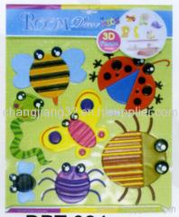 bugs 3D Wall Sticker