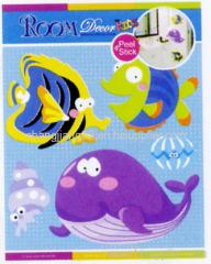 Cute Fish 3D Wall Stickers