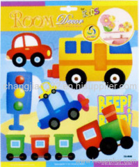Mini Car Handmade 3D Sticker