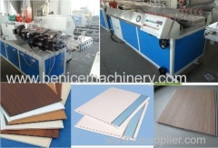 Plastic extrusion machinery for PVC ceiling