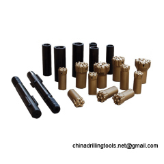China rock drilling tools button bits