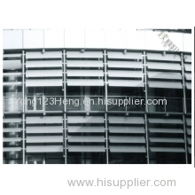 Extrusion aluminum for curtain wall