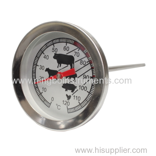 regular cooking thermometer; animal cooking thermometer