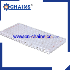 Plastic Modular Belt conveyor M-SNB M3 0.5'' pitch Flush Grid