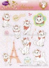 Cat Foil puffy stickers
