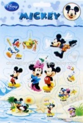 Disney Mickey Pop-up PVC sticker