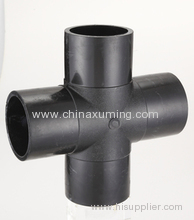 HDPE Butt Fusion Injection Cross Pipe Fittings