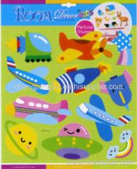cute plane Scented Sticker