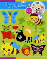 cute bugs Scented Sticker
