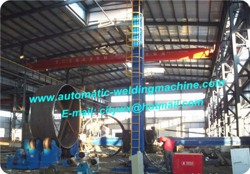 Pipe Welding Manipulator With Lincoln Submerged Arc Welding Head 360