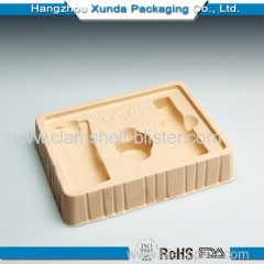 Plastic blister cosmetic cavity flocking tray