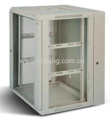 Double Section Wall Cabinet 6U to 22U