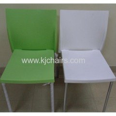 plastic dining chair made in China