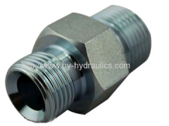 BSP Male Double Use for 60 Degree Cone Seat or Bonded Seal Flared fitting 1B