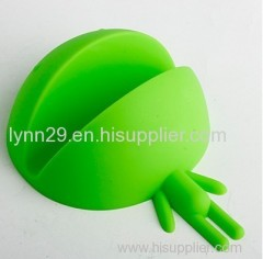 Custom design monster shape silicone cell phone sucker stand