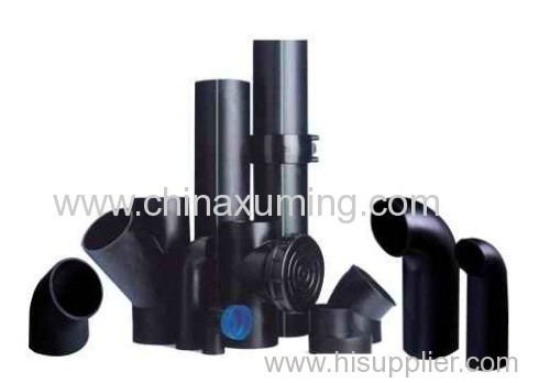 PE Siphon Eccentric Different-diameter Pipe Fittings