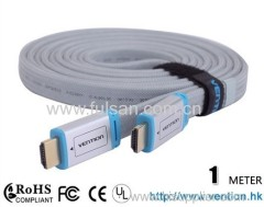 1.4a Flat HDMI Cable 1080P Male to Male M/M