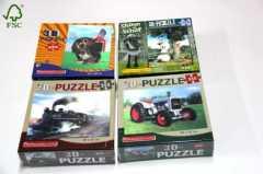 puppy train 3D jigsaw puzzle