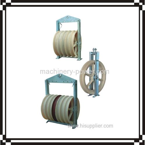 Model 660 Large diameter stringing block