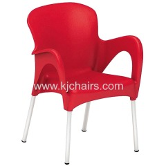 hot sale outdoor plastic dining chair