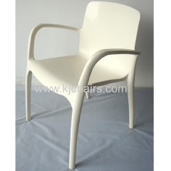armrest pp dining chair