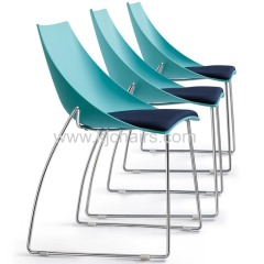 leisure plastic chair with cushion