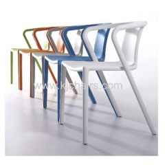 modern style all pp plastic dining chair