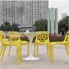 practical outdoor pp plastic chair